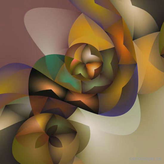 Geometric Abstraction, Canadian Artist, Carol Cooper